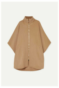 Stella McCartney - Turtleneck Wool Cape - Camel