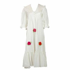 Lotus On Air - Loa Ruffle Hem Muscle Tee