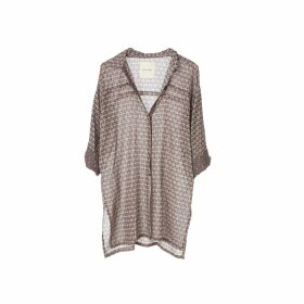 Lotus On Air - Loa Ruffle Hem Hoodie
