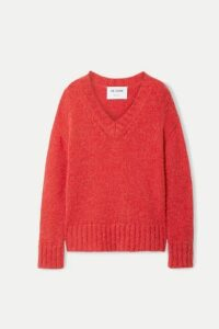 RE/DONE - 90s Oversized Knitted Sweater - Red