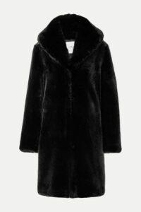 Faz Not Fur - Dark Knight Faux Fur Coat - Black