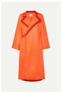 TRE by Natalie Ratabesi - The Usha Oversized Shell Coat - Bright orange