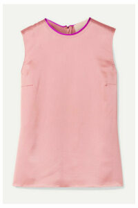 Roksanda - Kobe Silk-satin Top - Blush