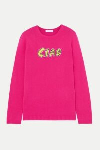 Bella Freud - Ciao Intarsia Cashmere Sweater - Pink
