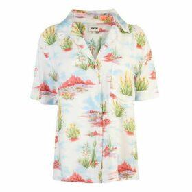 Wrangler Cuban Short Sleeve Shirt