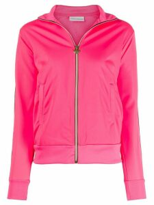 Chiara Ferragni Logomania zipped sweatshirt - PINK