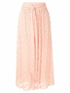 Nk Grand Pois Ray midi skirt - PINK