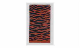 Tiger Stripe Intarsia Scarf