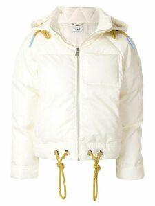 LU MEI Crystal Palace puffer jacket - Yellow