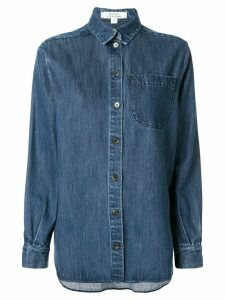 Kseniaschnaider Blue Denim Shirt