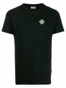 Diesel Coca Cola-tape short-sleeved T-shirt - Black