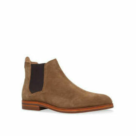 H By Hudson Tonti Boot - Taupe Suede Chelsea Boots