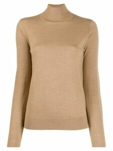 Joseph fine knit roll-neck jumper - Neutrals