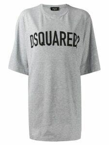 Dsquared2 logo printed T-shirt - Grey