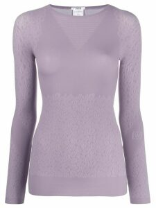 Wolford Cheetah print sweater - Purple