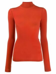 Wolford Buenos Aires roll-neck jumper - ORANGE