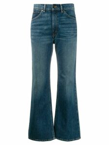Polo Ralph Lauren cropped flared denim jeans - Blue