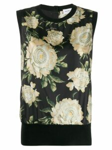 Salvatore Ferragamo floral print blouse - Black