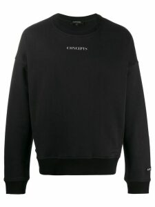 Odeur Concepts print crew neck sweatshirt - Black