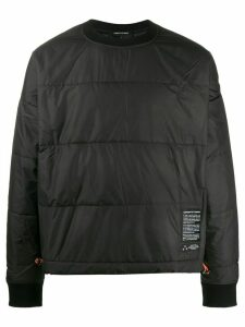 Odeur quilted toggle detail sweatshirt - Black