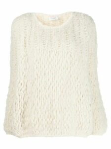Snobby Sheep cashmere oversized-fit jumper - White
