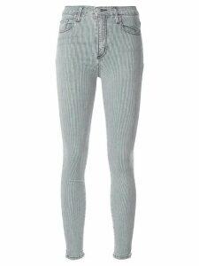 Nobody Denim Cult striped skinny jeans - Blue