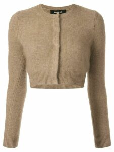 Paule Ka cropped cardigan - Brown