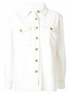 Nobody Denim Downtown shirt jacket - White