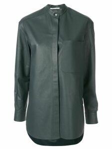 Agnona blouse style jacket - Blue