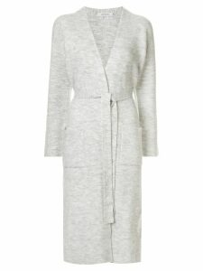 Loveless long belted cardigan - Grey
