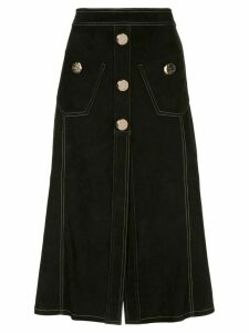 Alexis Balton denim skirt - Black