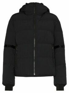 Fusalp Bars logo patch puffer jacket - Black