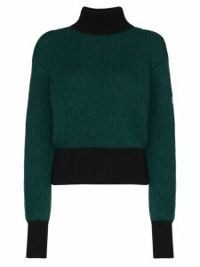 Fusalp Muzelle colourblock ribbed jumper - Green