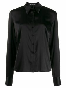 Styland pointed collar shirt - Black