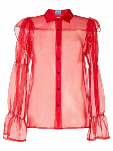 Macgraw Souffle Blouse - Red