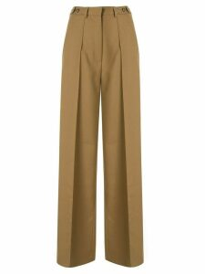 Rokh wide leg trousers - Brown
