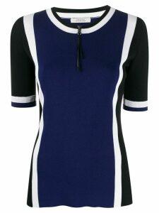 Dorothee Schumacher colour-block T-shirt - Blue