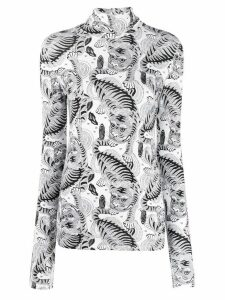 Dorothee Schumacher two-tone knit jumper - White