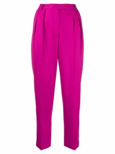 Styland tailored cropped trousers - PINK