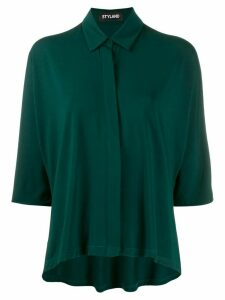 Styland concealed button shirt - Green
