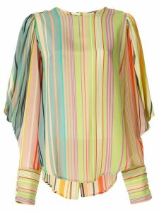 Silvia Tcherassi striped print blouse - Multicolour