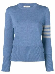 Thom Browne 4-Bar Milano Pullover - Blue