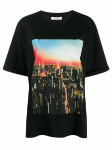 Dorothee Schumacher printed loose fit T-shirt - Black