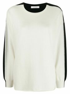 Dorothee Schumacher colour block jumper - White