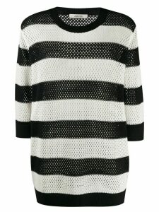 Dorothee Schumacher knitted striped jumper - Black