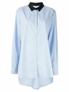 Macgraw Truth striped shirt - Blue