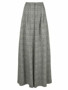 Adam Lippes prince of wales palazzo trousers - Grey