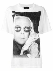 Emporio Armani Giorgio Cat T-shirt - White