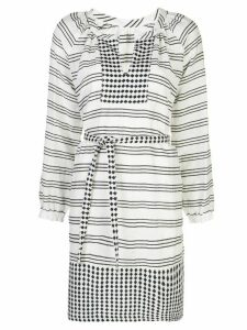 lemlem Tigist blouse dress - White