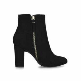 Nine West Courtney - Black Block Heel Ankle Boots